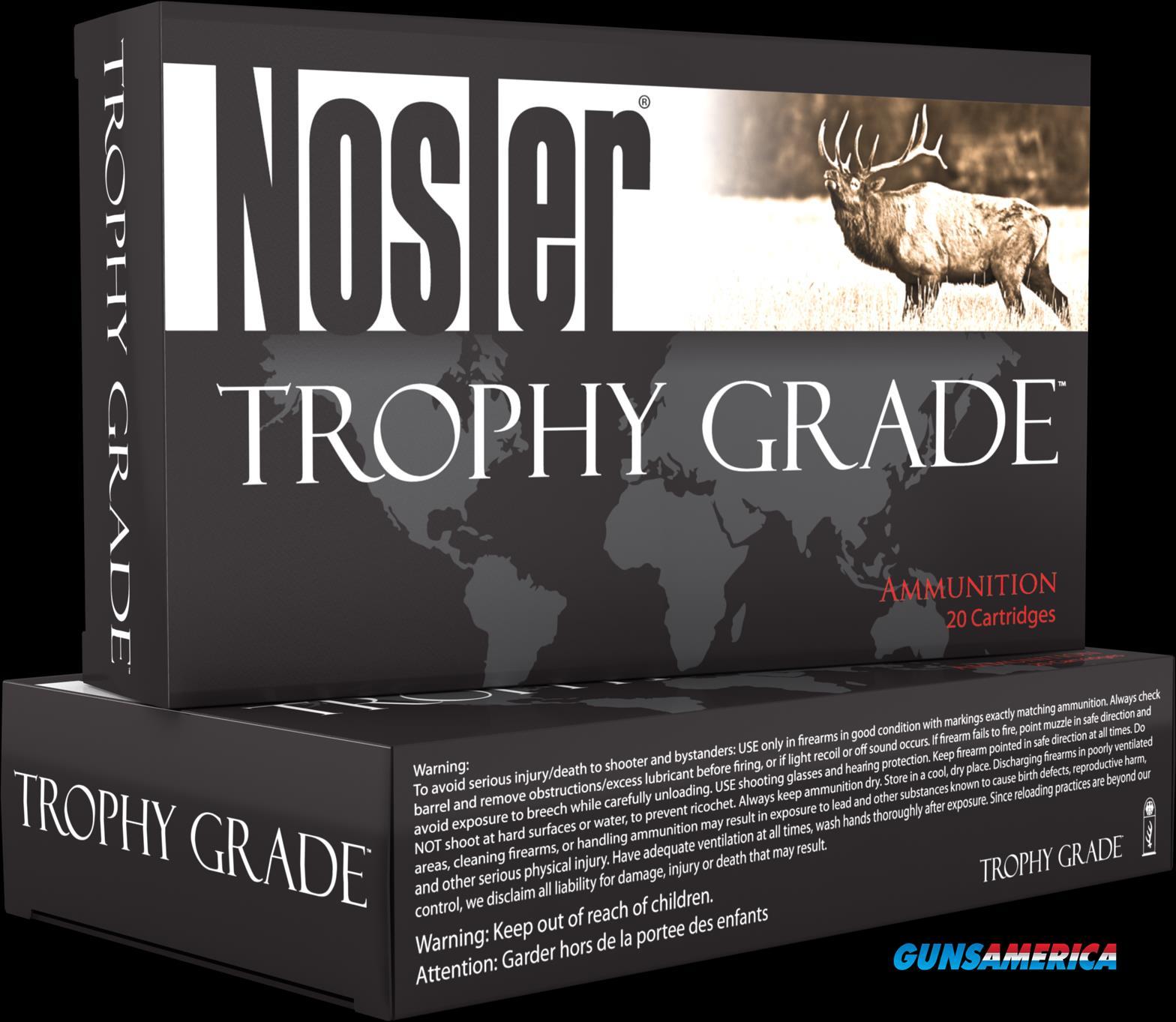 Nosler Trophy Grade, Nos 60055 Trophy 3006     150 Pt             20-10  Guns > Pistols > 1911 Pistol Copies (non-Colt)