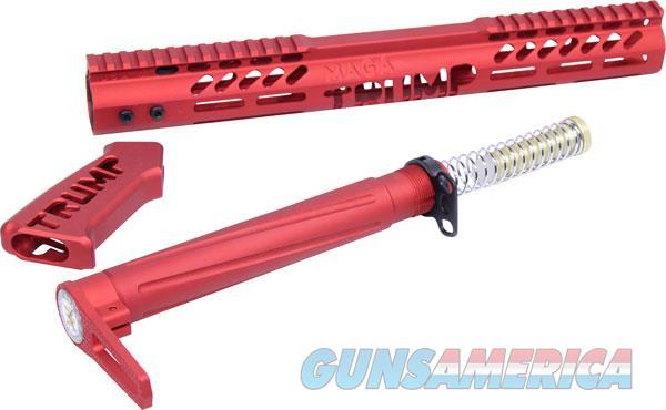 Guntec Airlite Alum Stock Set - Trump Limted Edition Red  Guns > Pistols > 1911 Pistol Copies (non-Colt)