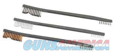 Otis Receiver Brush 3 Pack - Nylon Bronze Stainless Steel  Guns > Pistols > 1911 Pistol Copies (non-Colt)