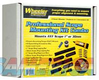 Wheeler Complete Scope - Mounting Kit 1 And 30mm  Guns > Pistols > 1911 Pistol Copies (non-Colt)