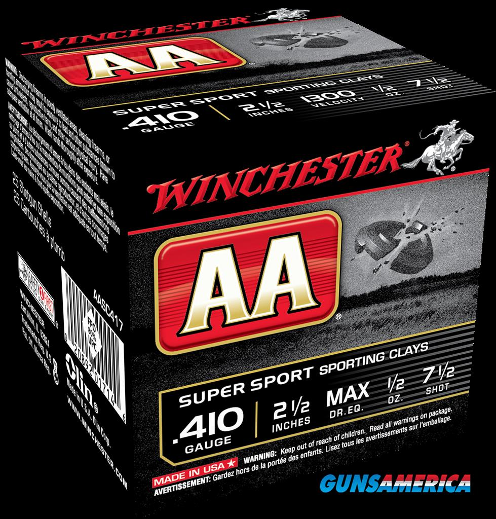 Winchester Ammo Aa, Win Aasc417    Aa Spt Cly   1-2   25-10  Guns > Pistols > 1911 Pistol Copies (non-Colt)