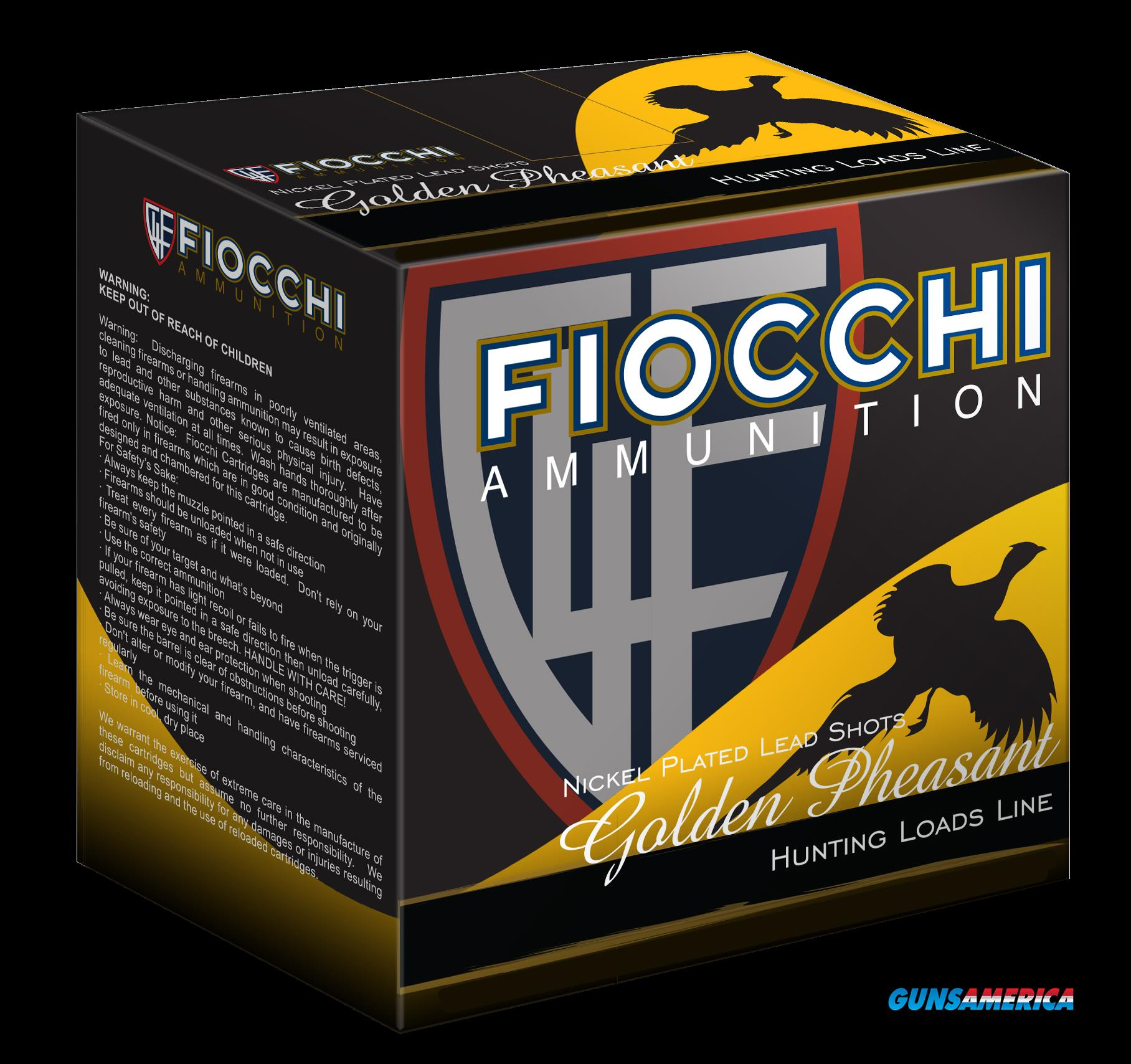 Fiocchi Shooting Dynamics, Fio 12gpx6    Gld Phs       13-8  25-10  Guns > Pistols > 1911 Pistol Copies (non-Colt)