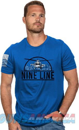 Nine Line Apparel Helicopter - Men's T-shirt Ryl Blue 3x-lrg!  Guns > Pistols > 1911 Pistol Copies (non-Colt)