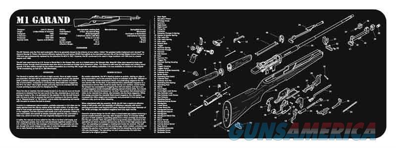 Tekmat Armorers Bench Mat - 12x36 M1 Garand Black  Guns > Pistols > 1911 Pistol Copies (non-Colt)