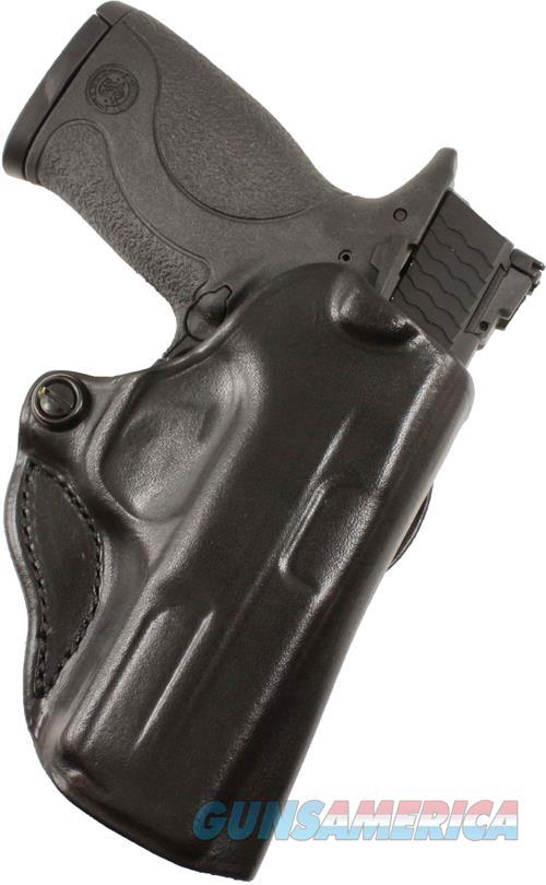 Desantis Mini Scabbard Holster - Rh Owb Leather Walther Ccp Blk  Guns > Pistols > 1911 Pistol Copies (non-Colt)