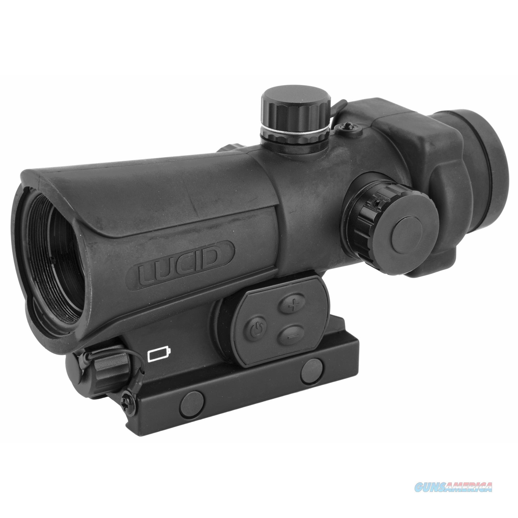 Lucid Optics Red Dot Hd7 - Gen3 34mm Black  Guns > Pistols > 1911 Pistol Copies (non-Colt)