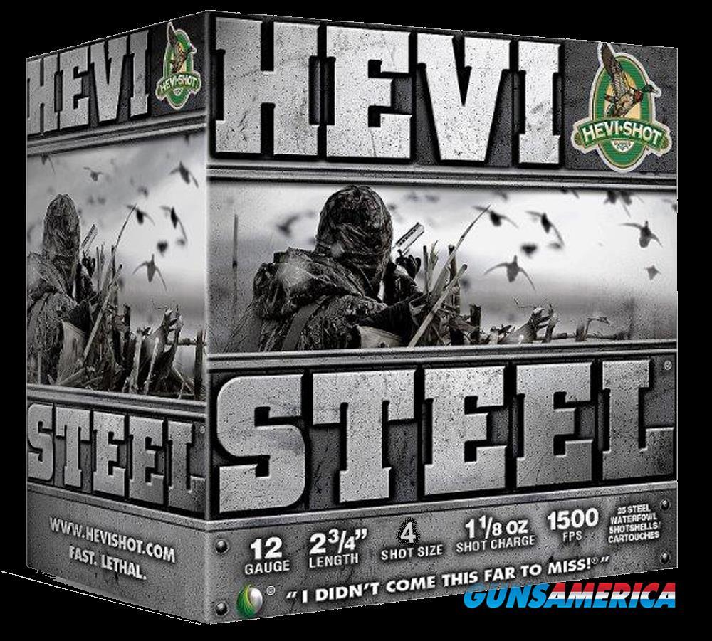 Hevishot Hevi-steel, Hevi 61224 Hevi-steel   12 2.75 4  11-8 25-10  Guns > Pistols > 1911 Pistol Copies (non-Colt)