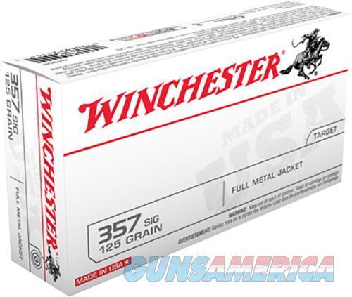 Winchester Ammo Usa, Win Q4309     357sig    125 Fmj     50-10  Guns > Pistols > 1911 Pistol Copies (non-Colt)