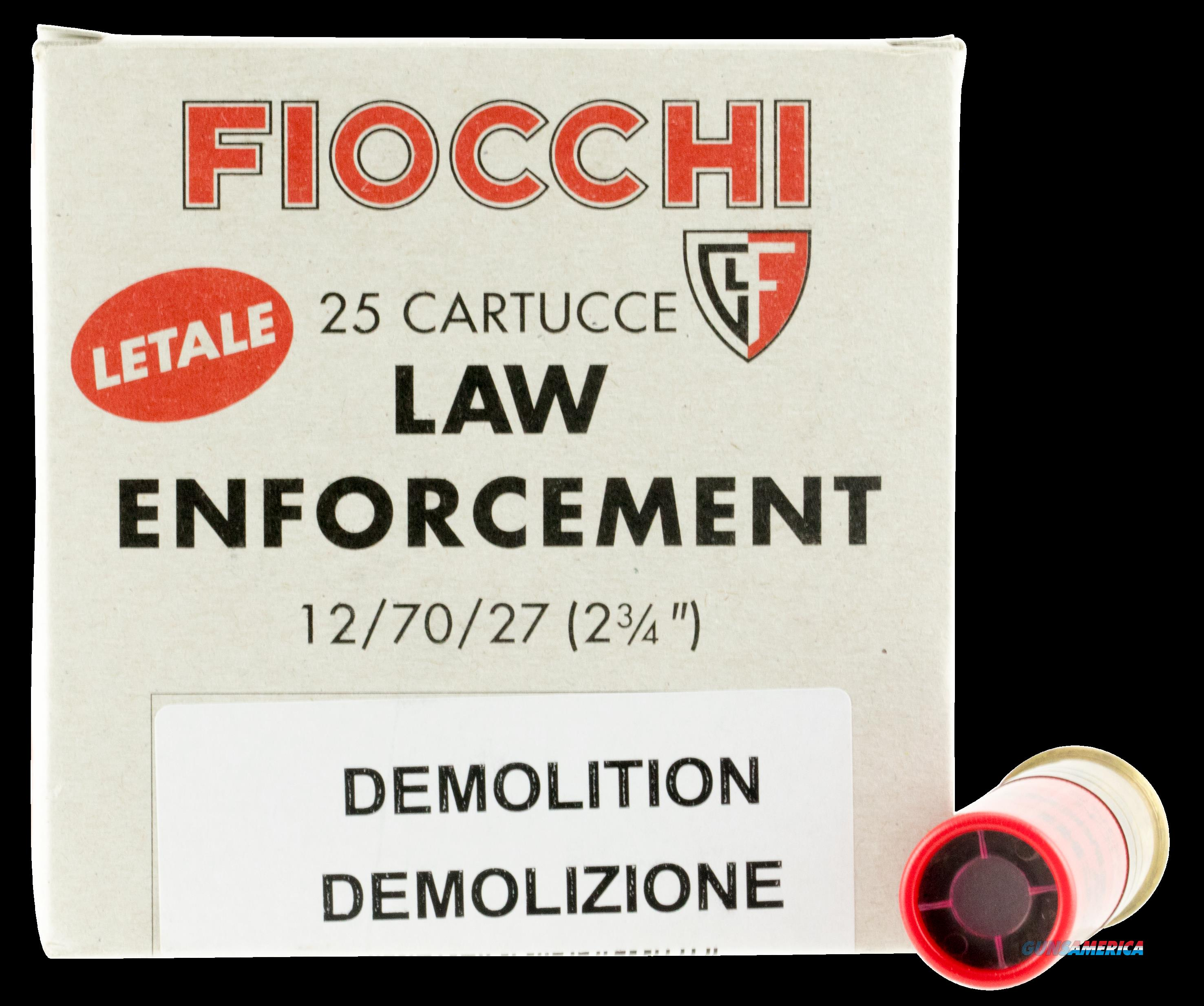 Fiocchi Lead And Wax, Fio 12ledemo  12 Lead-wax Slg     Box 25  Guns > Pistols > 1911 Pistol Copies (non-Colt)