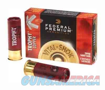 Federal Vital Shok Trophy Copper Slug 20ga 2.75'' 5-8oz 5-bx  Guns > Pistols > 1911 Pistol Copies (non-Colt)