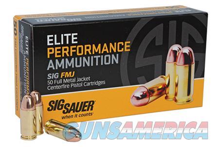 Sig Sauer Elite Ball, Sig E38sub-50     38sup   125 Fmj Elite 50-20  Guns > Pistols > 1911 Pistol Copies (non-Colt)