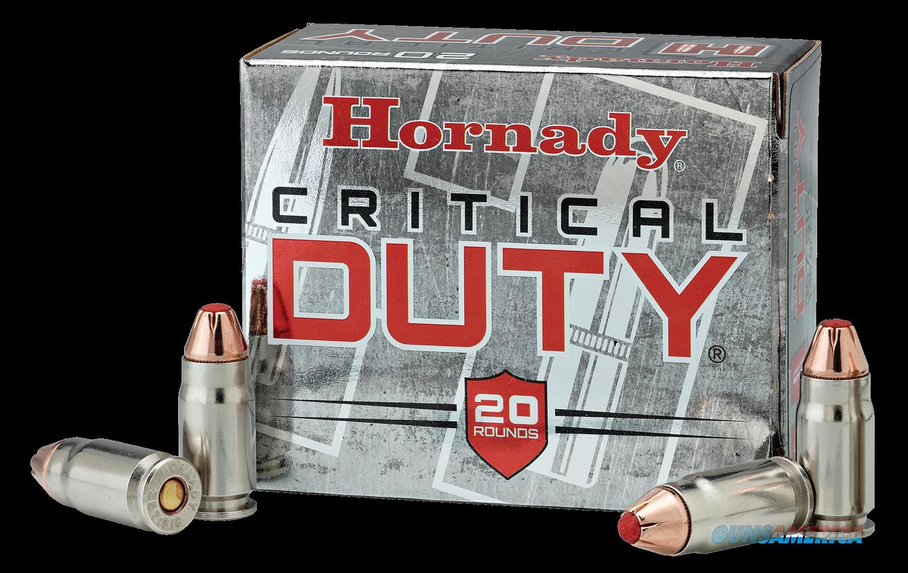 Hornady Critical Duty, Horn 91296 Crit Duty 357sig 135  20-10  Guns > Pistols > 1911 Pistol Copies (non-Colt)
