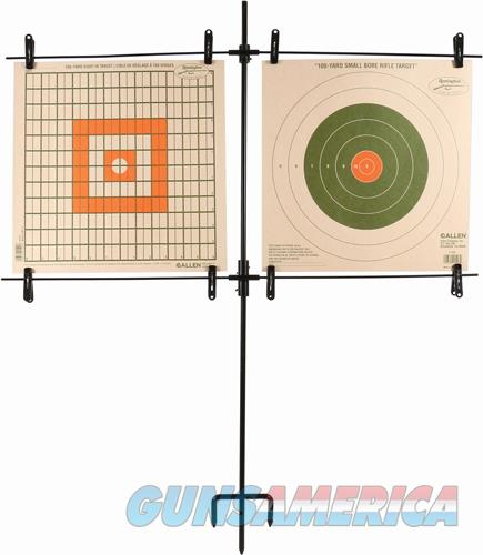 Allen Paper Target Stand - Includes 8 Clips-steel Frame  Guns > Pistols > 1911 Pistol Copies (non-Colt)