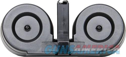 Iver Johnson Magazine Ar15 - .223 100rd Drum Blk-clear Poly  Guns > Pistols > 1911 Pistol Copies (non-Colt)