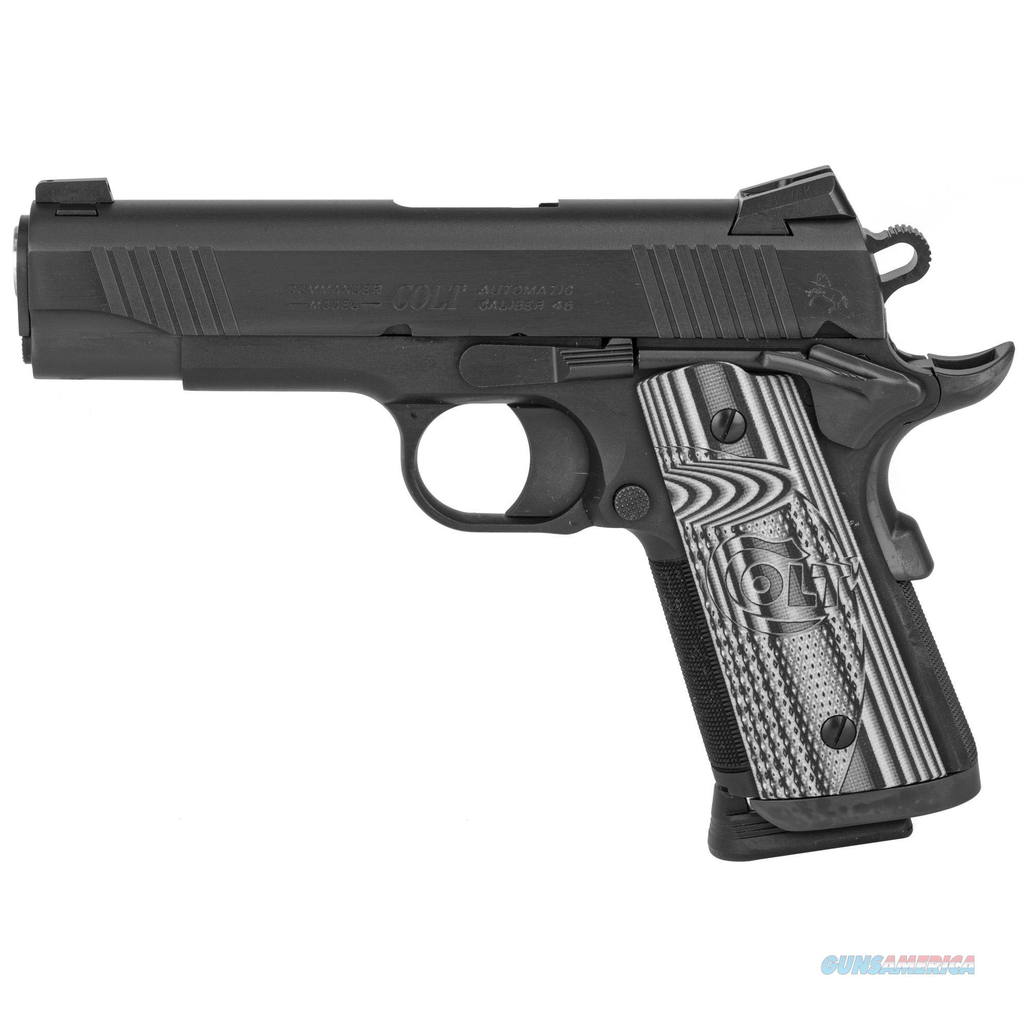 Colt Mfg Commander, Colt O9840ccu    Ccu Con Carry   45        Blk Dlc  Guns > Pistols > 1911 Pistol Copies (non-Colt)