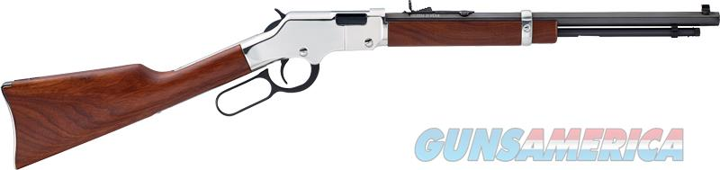 Henry Golden Boy, Henry H004sy    Silver Golden Boy Youth 22s-l-lr  Guns > Pistols > 1911 Pistol Copies (non-Colt)