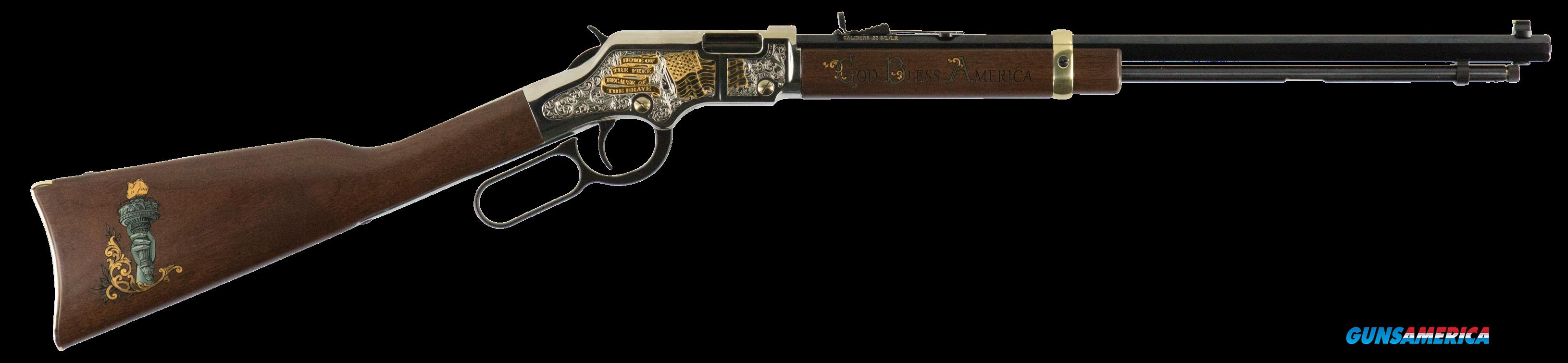 Henry Golden Boy, Henry H004gba   Golden Boy God Bless America  22lr  Guns > Pistols > 1911 Pistol Copies (non-Colt)