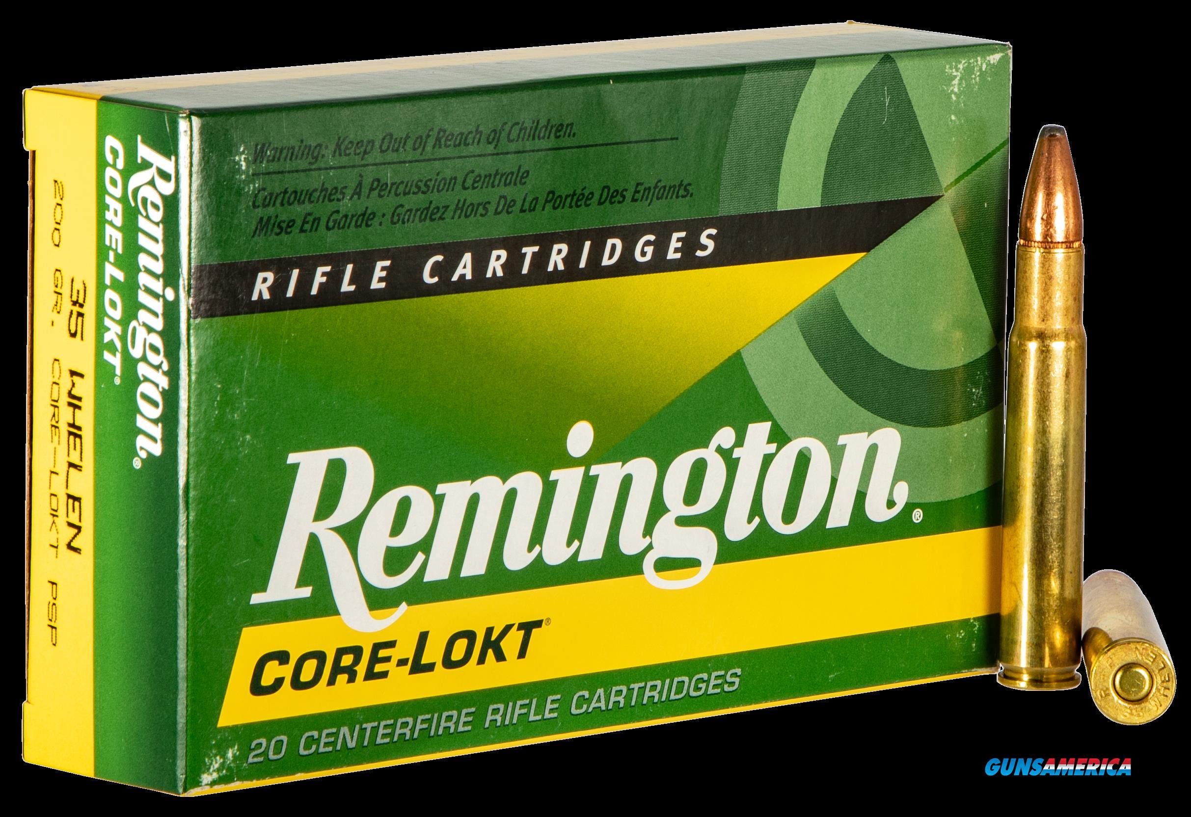 Remington Ammunition Core-lokt, Rem 21495 R35wh1   35 Whln   200 Psp   20-10  Guns > Pistols > 1911 Pistol Copies (non-Colt)