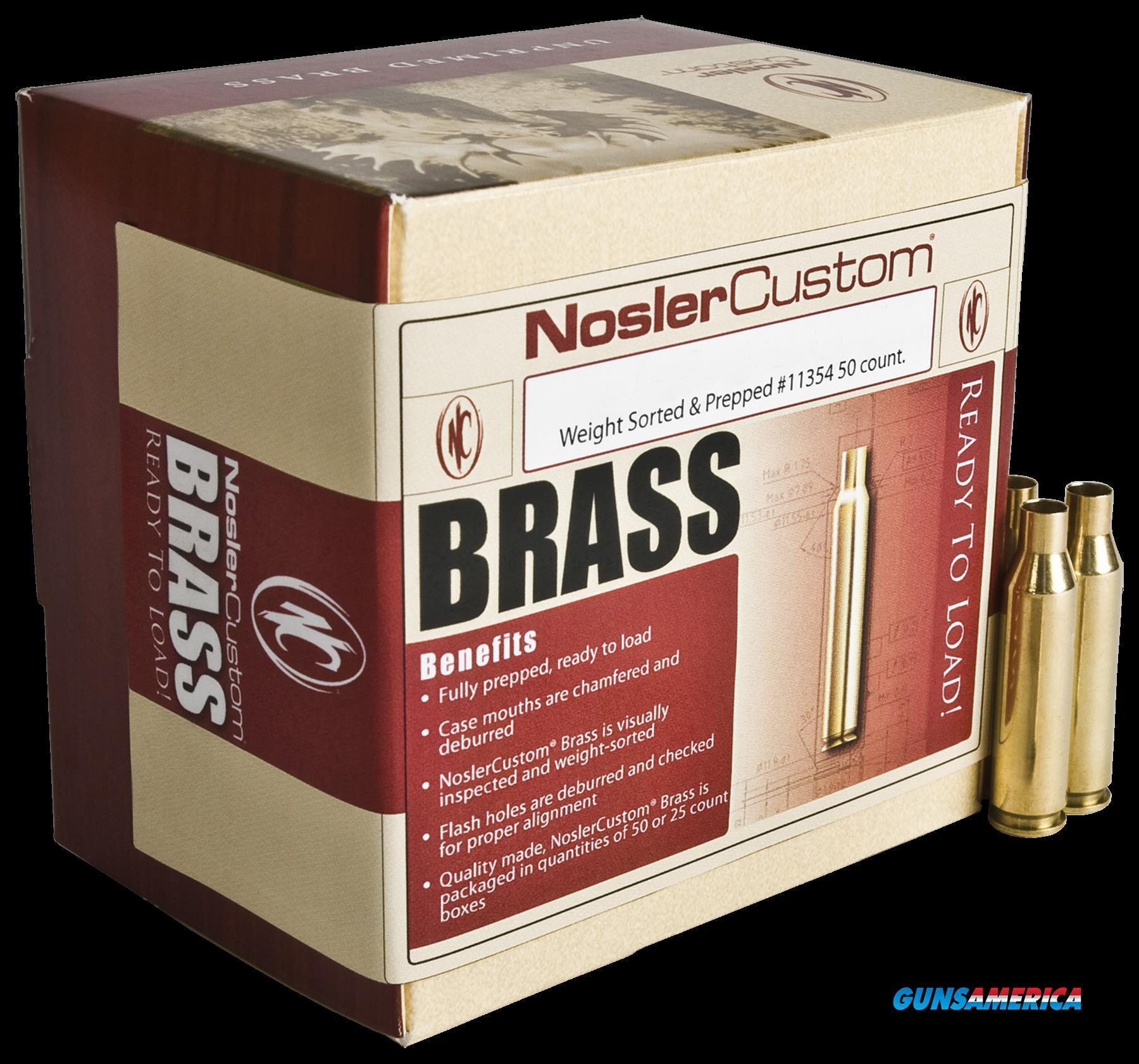 Nosler Centerfire Rifle, Nos 11354 Custom Brass 260 Rem      50  Guns > Pistols > 1911 Pistol Copies (non-Colt)