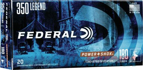 Federal Power-shok, Fed 350la     350leg   180 Pssp             20-10  Guns > Pistols > 1911 Pistol Copies (non-Colt)