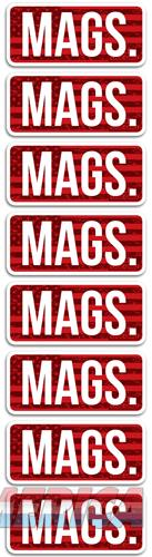 Mtm Ammo Caliber Labels Mags - 8-pack  Guns > Pistols > 1911 Pistol Copies (non-Colt)