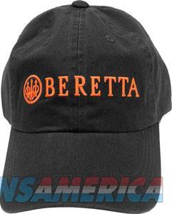 Beretta Cap Beretta Logo - Cotton Twill Charcoal Grey  Guns > Pistols > 1911 Pistol Copies (non-Colt)
