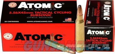 Atomic Ammo 5.56x45 Subsonic - 112gr. Round Nose Sp 50-pack  Guns > Pistols > 1911 Pistol Copies (non-Colt)