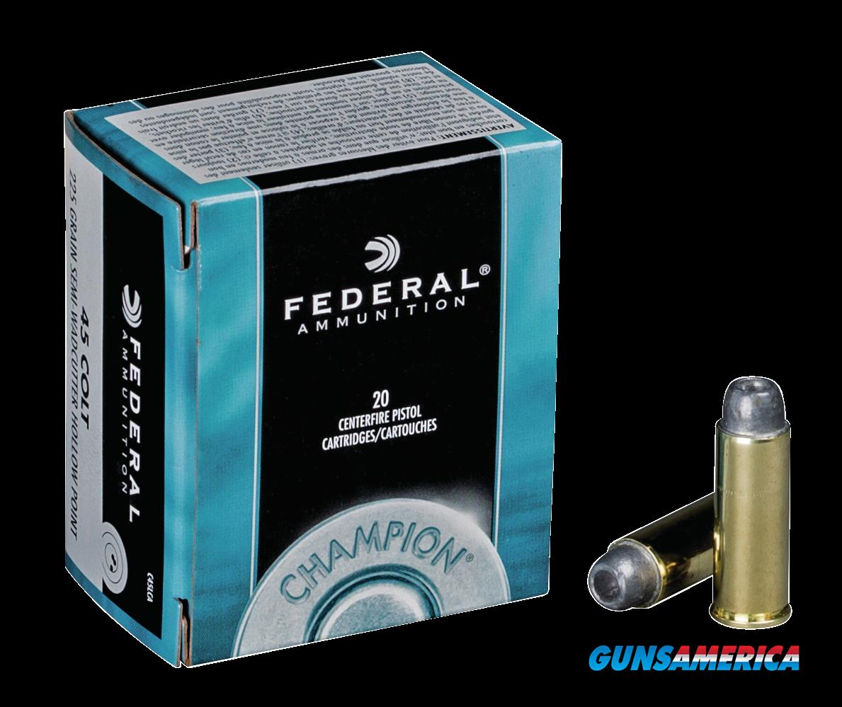 Federal Champion, Fed C45lca     45colt    225 Swch      20-25  Guns > Pistols > 1911 Pistol Copies (non-Colt)