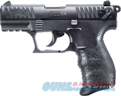 Walther P22 Ca .22lr 3.42 As - 10-shot Black Polymer  Guns > Pistols > 1911 Pistol Copies (non-Colt)