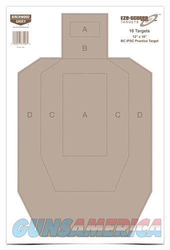 B-c Target Eze-scorer 12x18 - Ipsc Practice 10 Targets  Guns > Pistols > 1911 Pistol Copies (non-Colt)