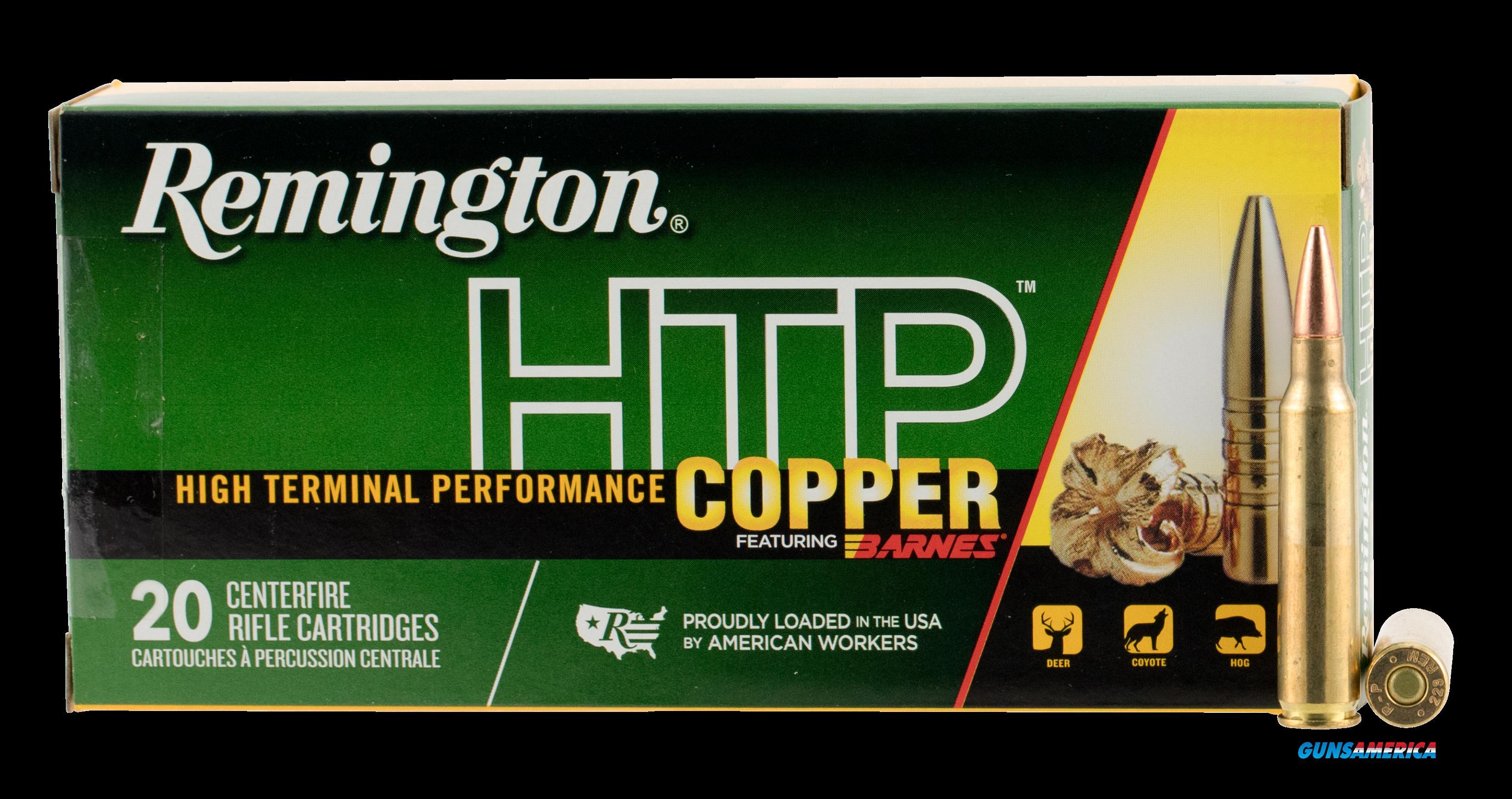 Remington Ammunition Htp Copper, Rem 27699 Htp223r   Htp Copper  62 Tsx Bt 20-10  Guns > Pistols > 1911 Pistol Copies (non-Colt)