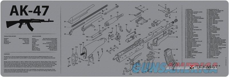 Tekmat Armorers Bench Mat - 12x36 Ak-47 Grey  Guns > Pistols > 1911 Pistol Copies (non-Colt)