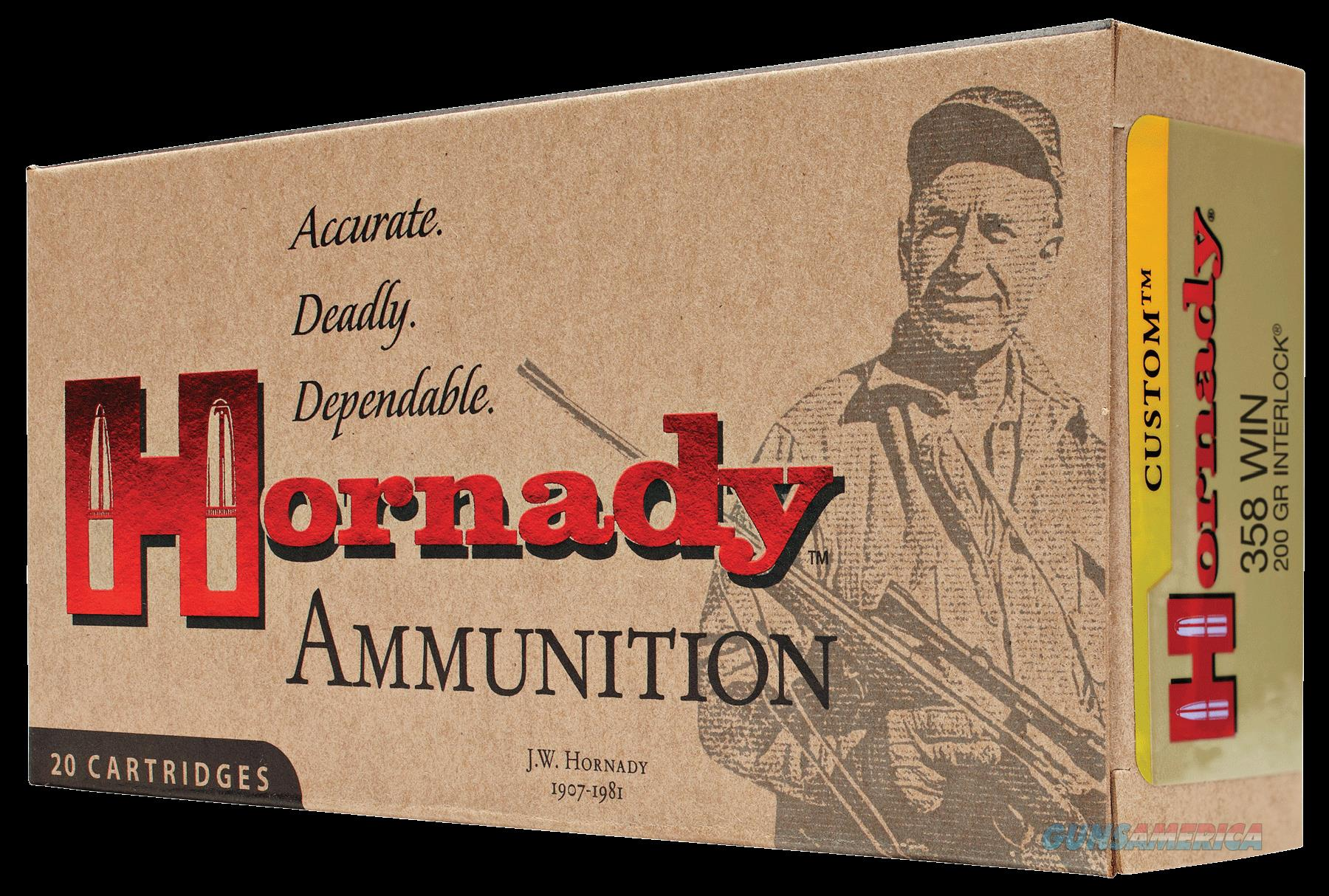 Hornady Custom, Horn 91318 358 Win  200 Sp       20-10  Guns > Pistols > 1911 Pistol Copies (non-Colt)