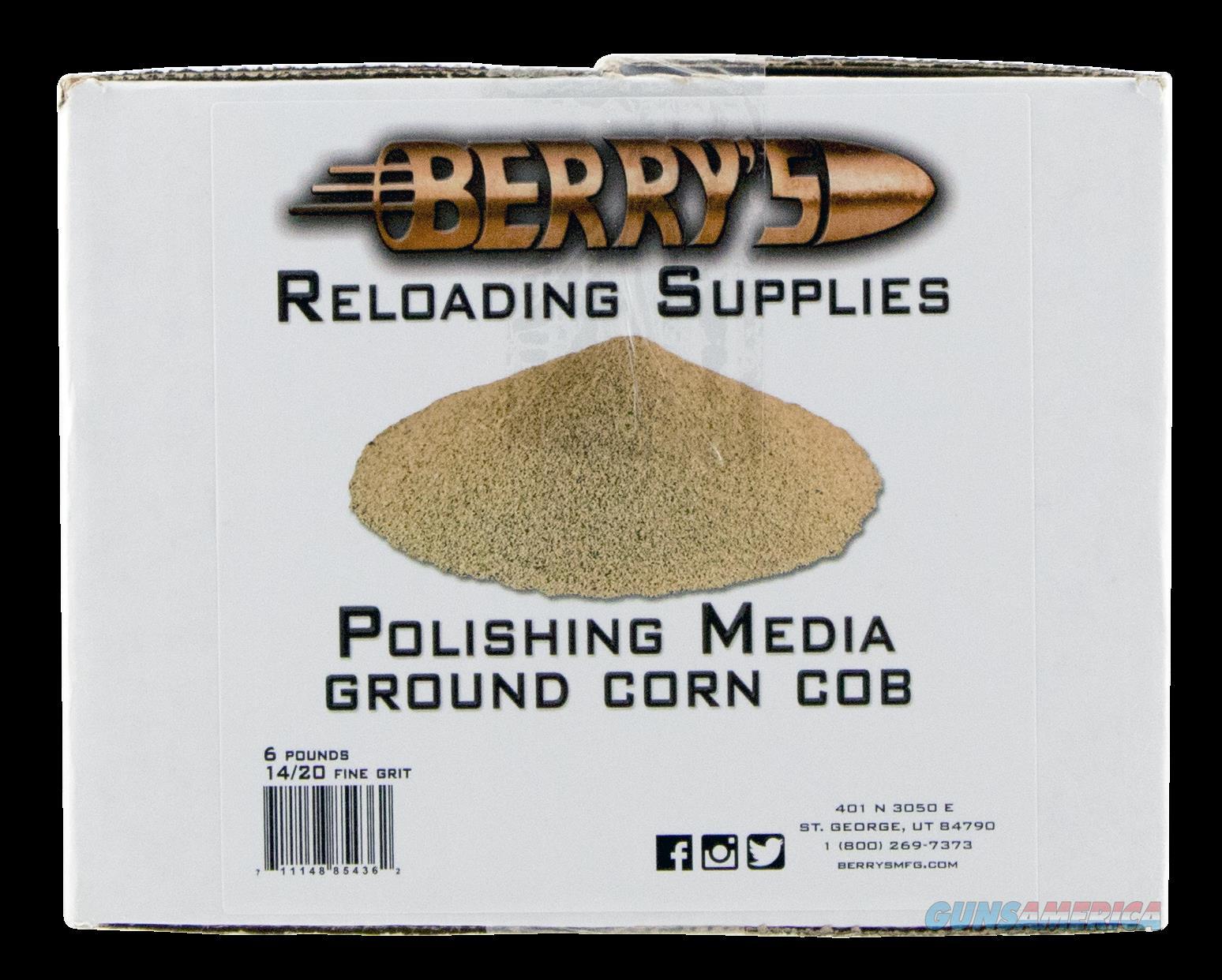 Berrys Corn Media, Berrys 85436    Corn Media 14-20 Grit 6lb  Guns > Pistols > 1911 Pistol Copies (non-Colt)
