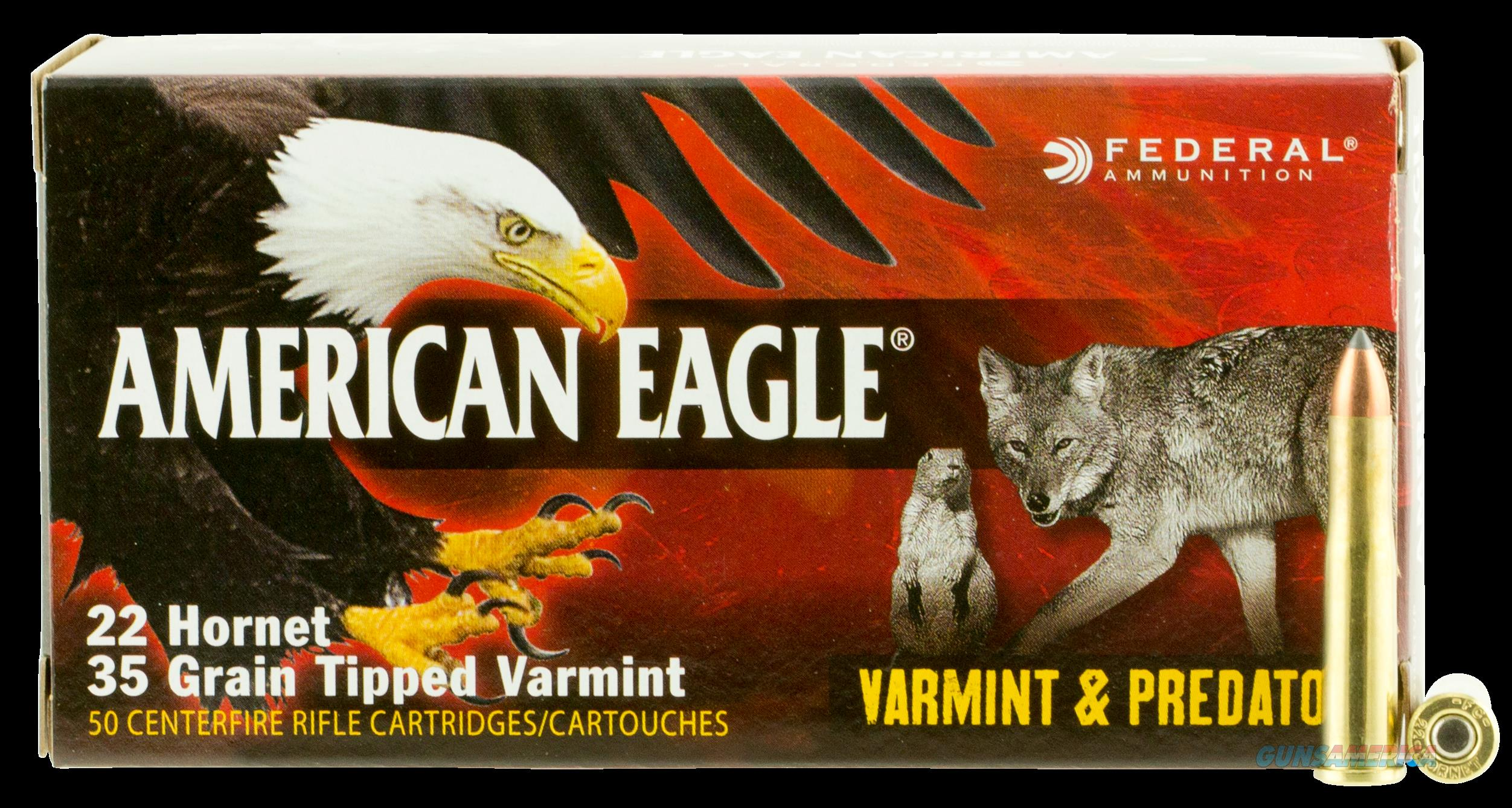 Federal American Eagle, Fed Ae22h35tvp  22hor        35 Tvp     50-10  Guns > Pistols > 1911 Pistol Copies (non-Colt)