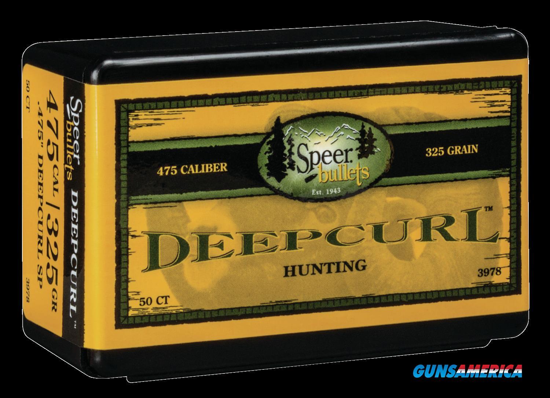 Speer Bullets Deepcurl, Speer 3978 Bull .475 325 Dcsp       50  Guns > Pistols > 1911 Pistol Copies (non-Colt)