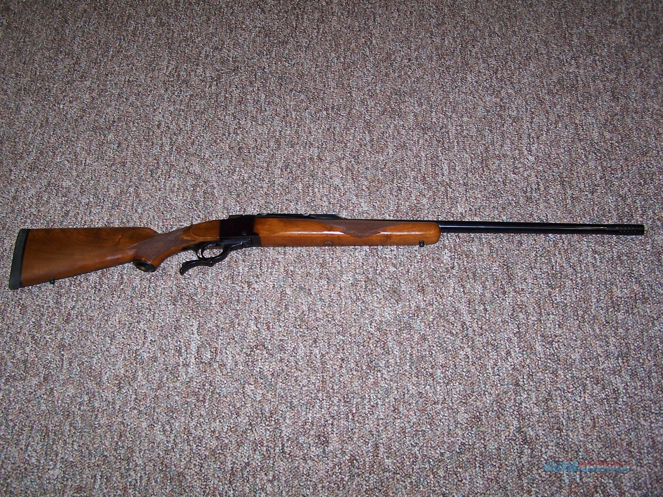 Ruger #1 375 Weatherby  Guns > Rifles > Ruger Rifles > #1 Type