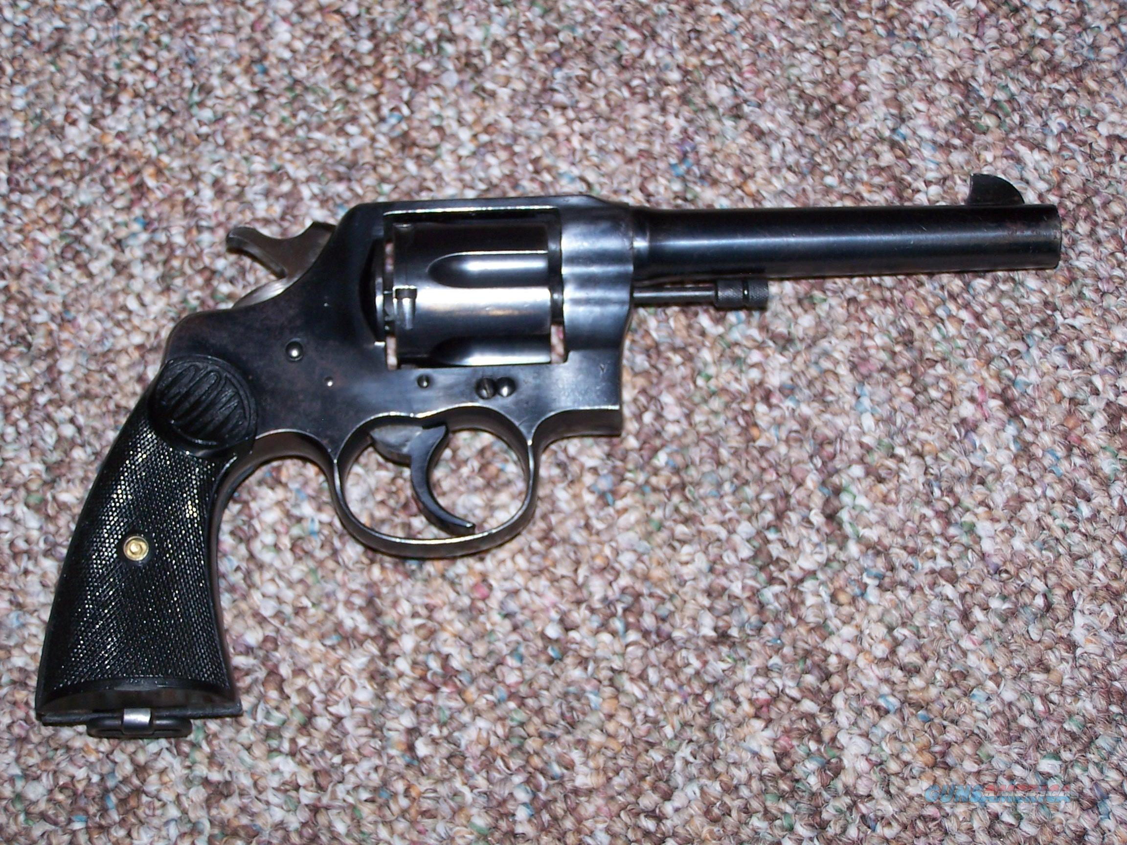 COLT 45 ACP 1917 US ISSUE  Guns > Pistols > Colt Double Action Revolvers- Pre-1945