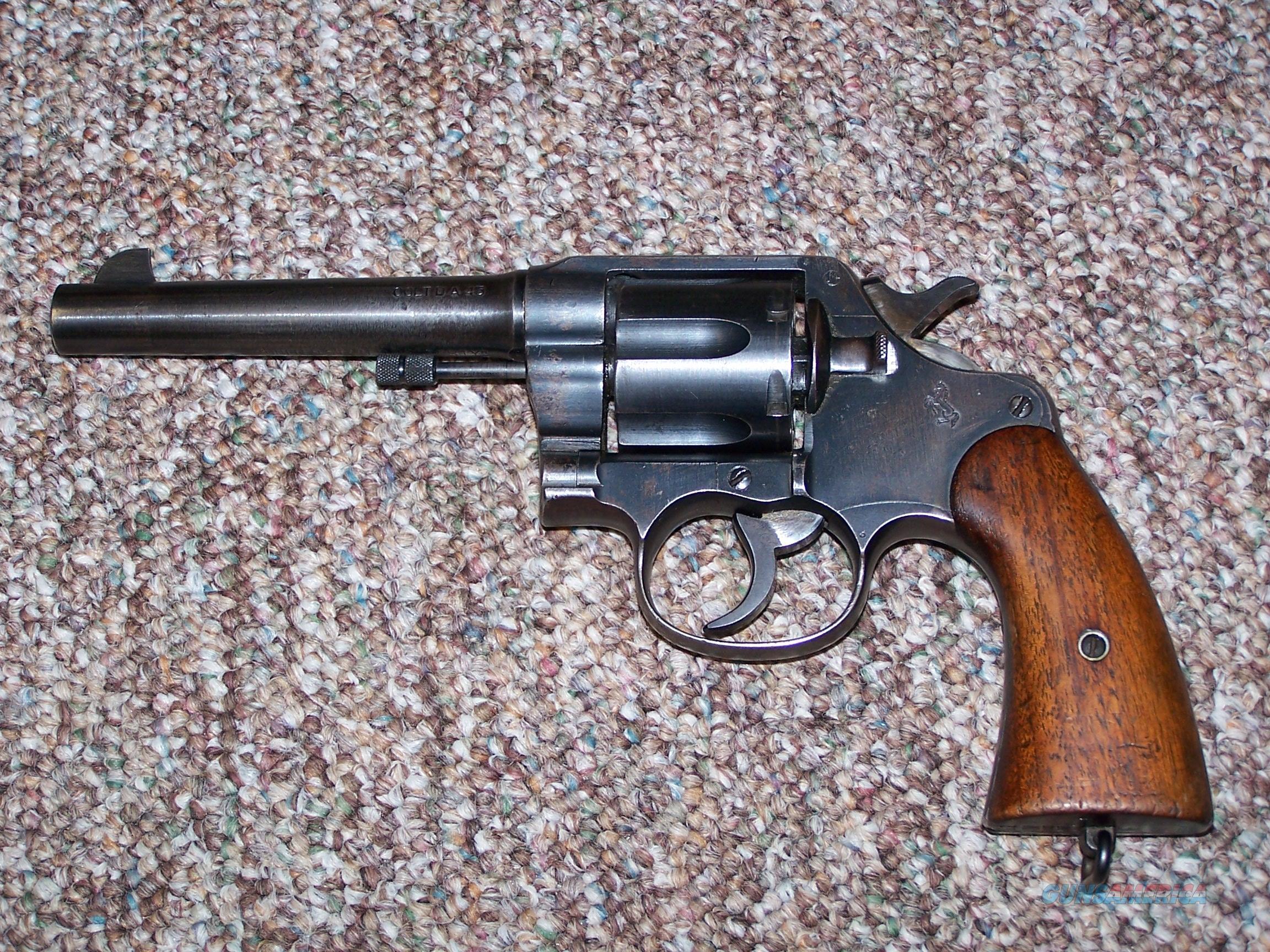 COLT 1917 45 ACP US PROPERTY  Guns > Pistols > Colt Double Action Revolvers- Pre-1945