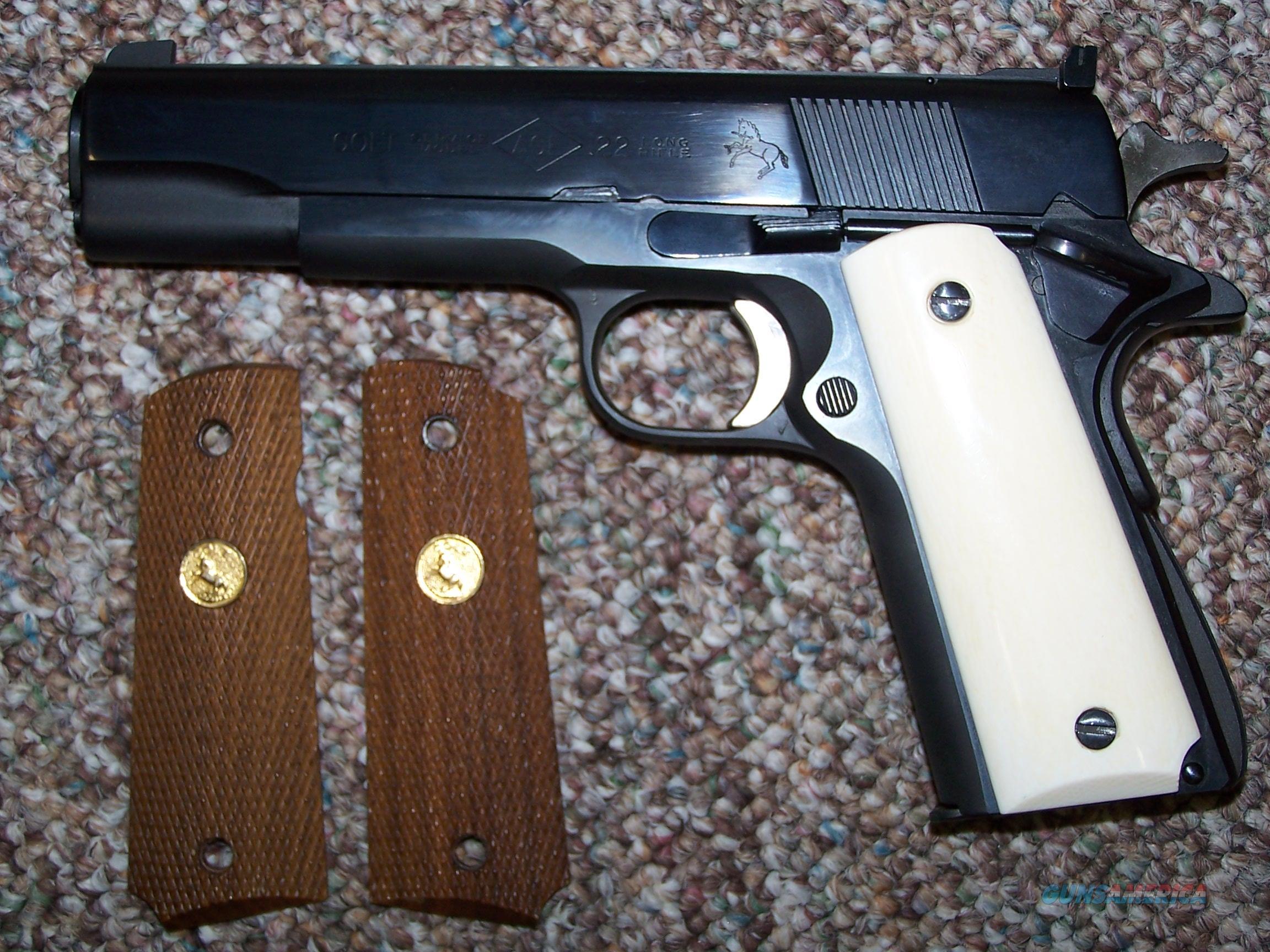 COLT ACE  Guns > Pistols > Colt Automatic Pistols (1911 & Var)
