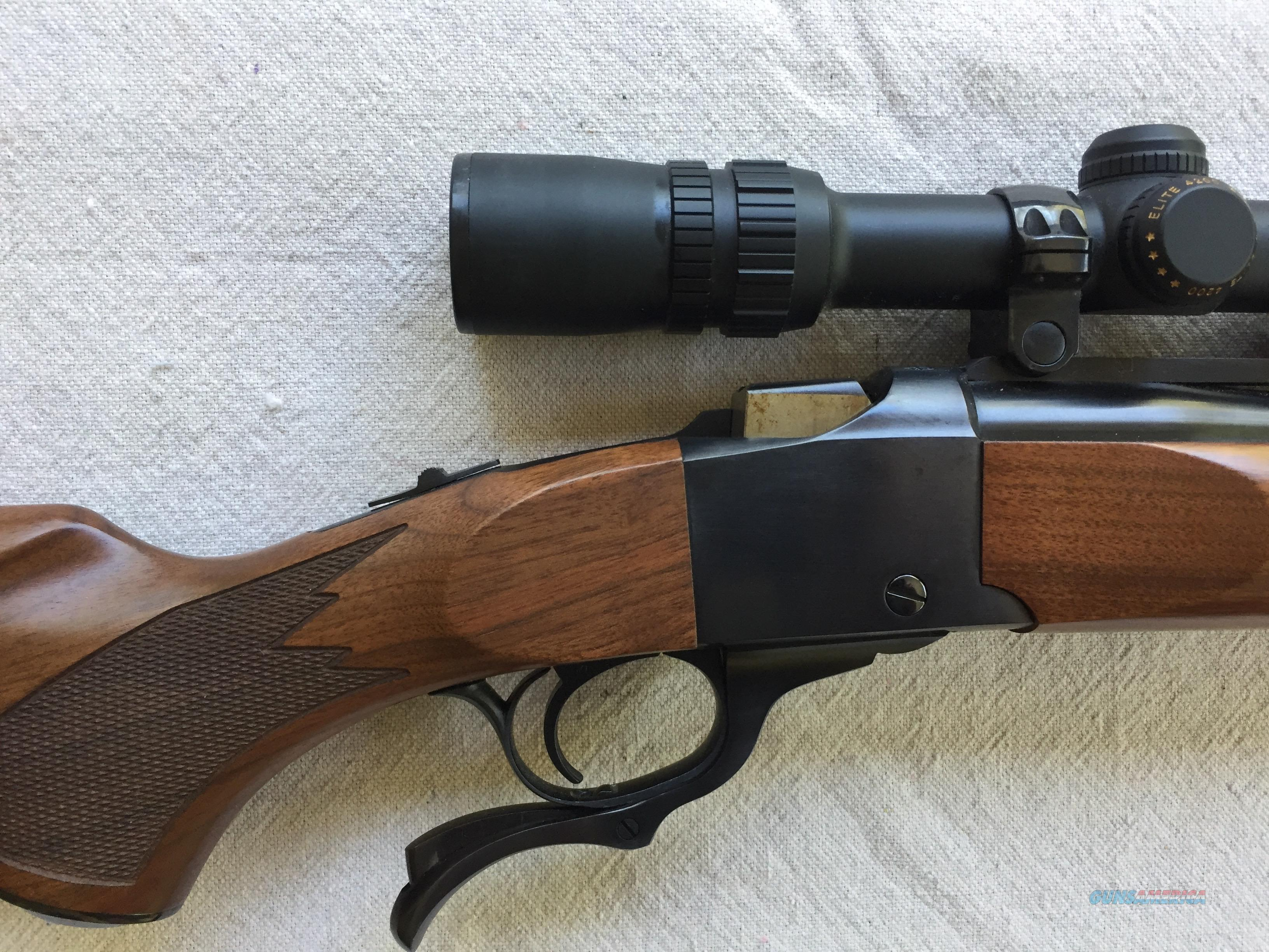 Tack Driver! Ruger No.1with B&L Elite scope. 1999 production, as new, never fired  Guns > Rifles > Ruger Rifles > #1 Type