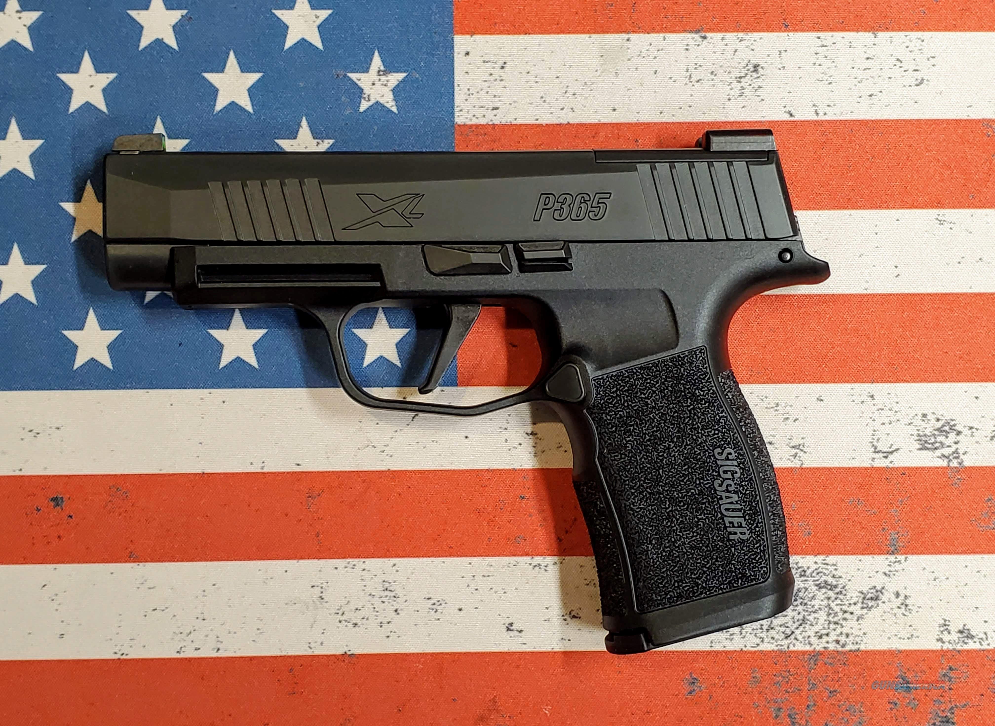 SIG SAUER P365XL 9MM 12+1 **FREE SHIPPING**  Guns > Pistols > Sig - Sauer/Sigarms Pistols > P365