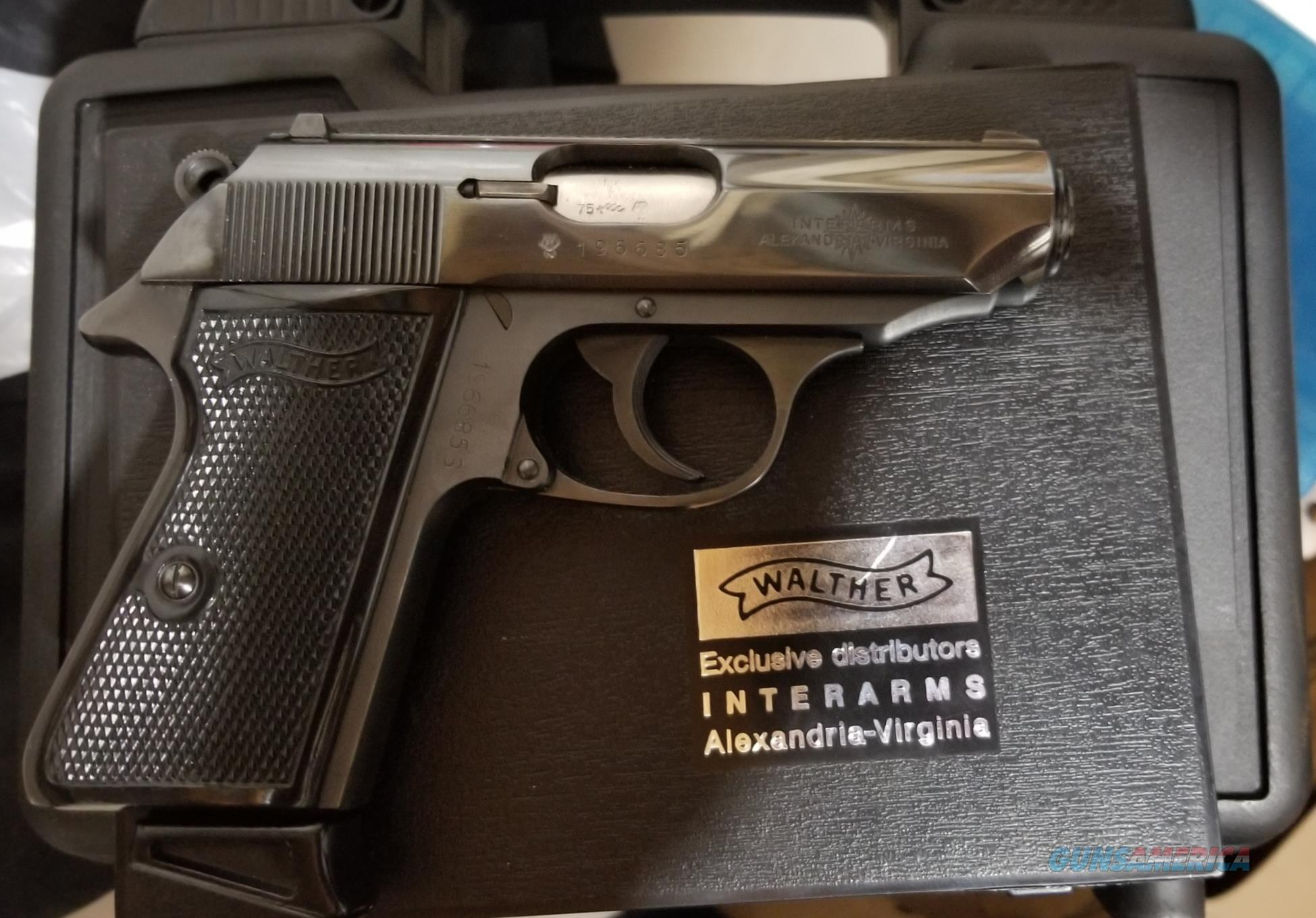 Walther PPK/S West German (1975)  Guns > Pistols > Walther Pistols > Post WWII > PPK Series
