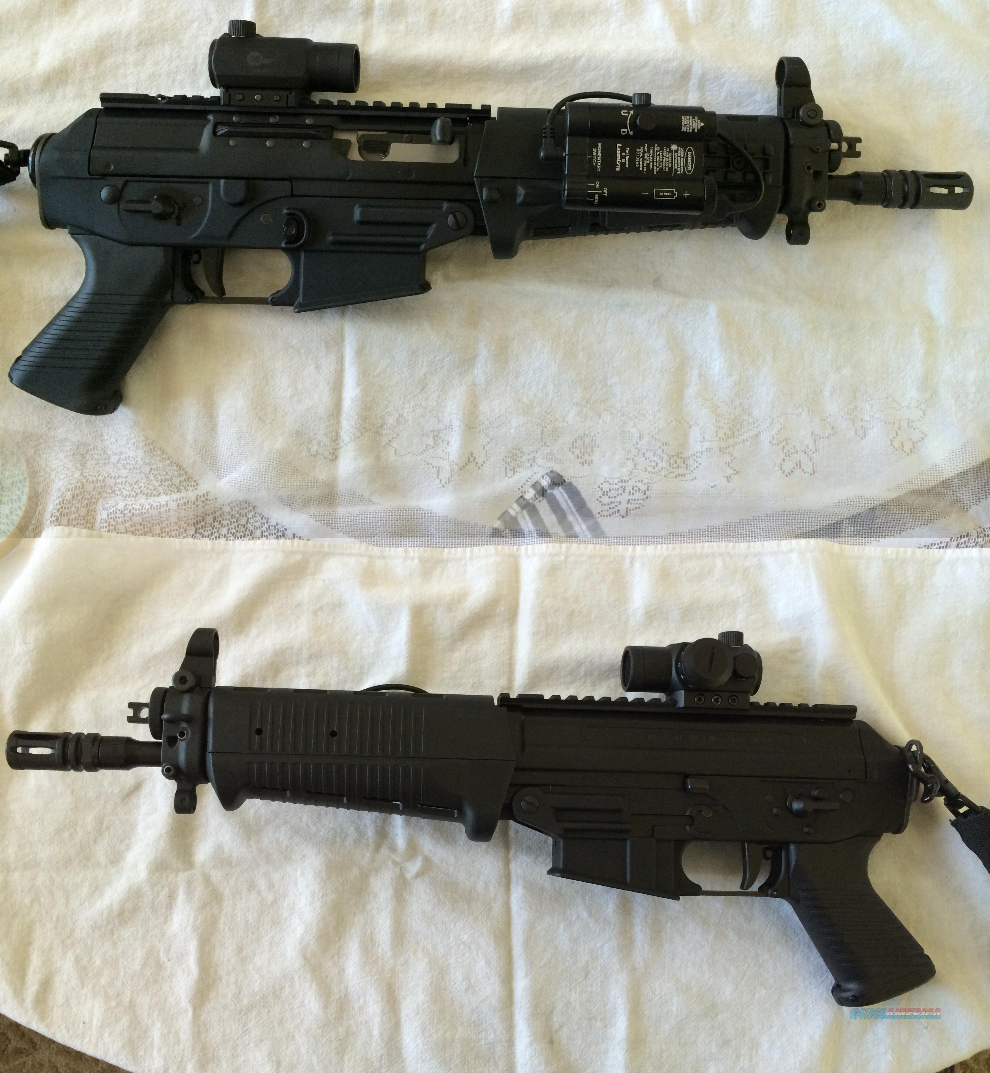 SIG556, 5.56 NATO with green laser and scope  Guns > Rifles > Sig - Sauer/Sigarms Rifles