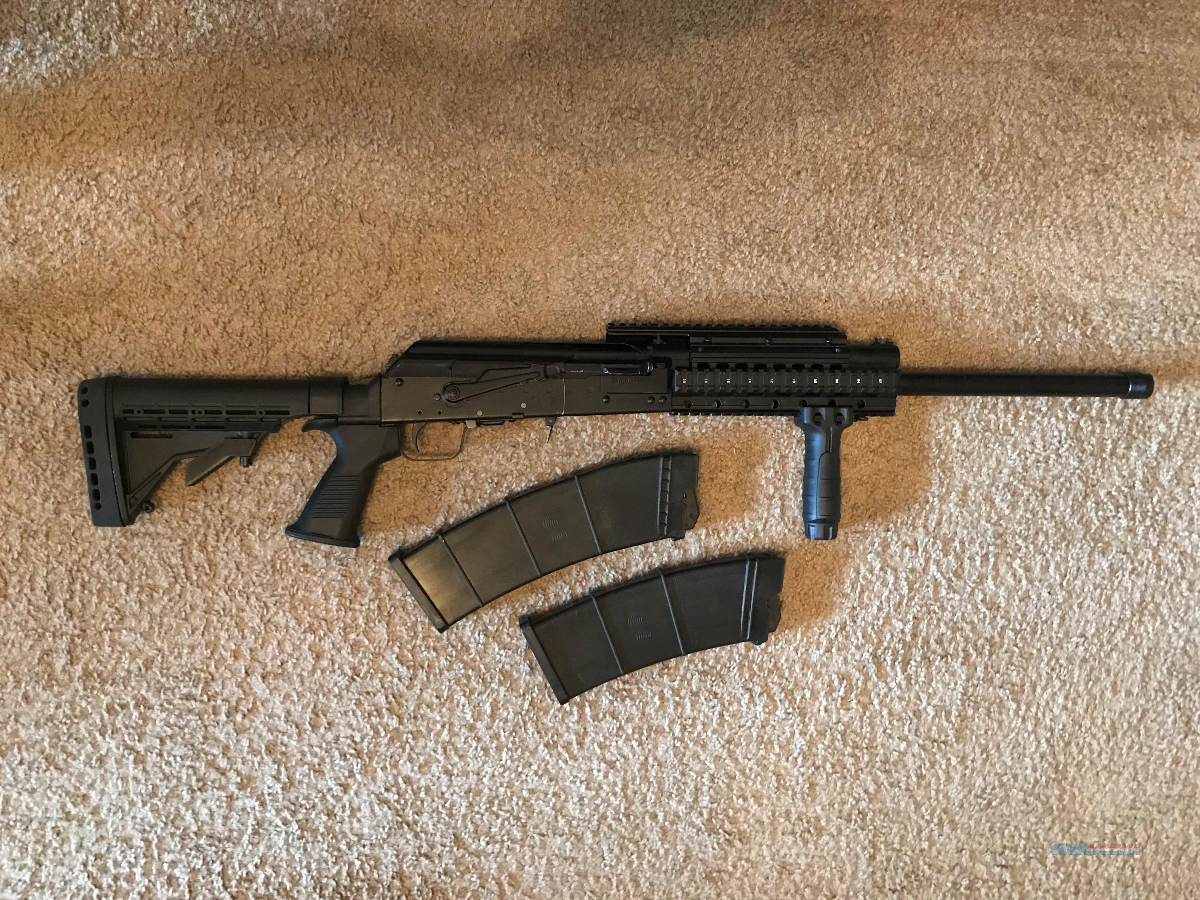 Kalashnikov Izhmash SAIGA 12 w/ Adjustable Stock  Guns > Shotguns > Kalashnikov USA Shotguns