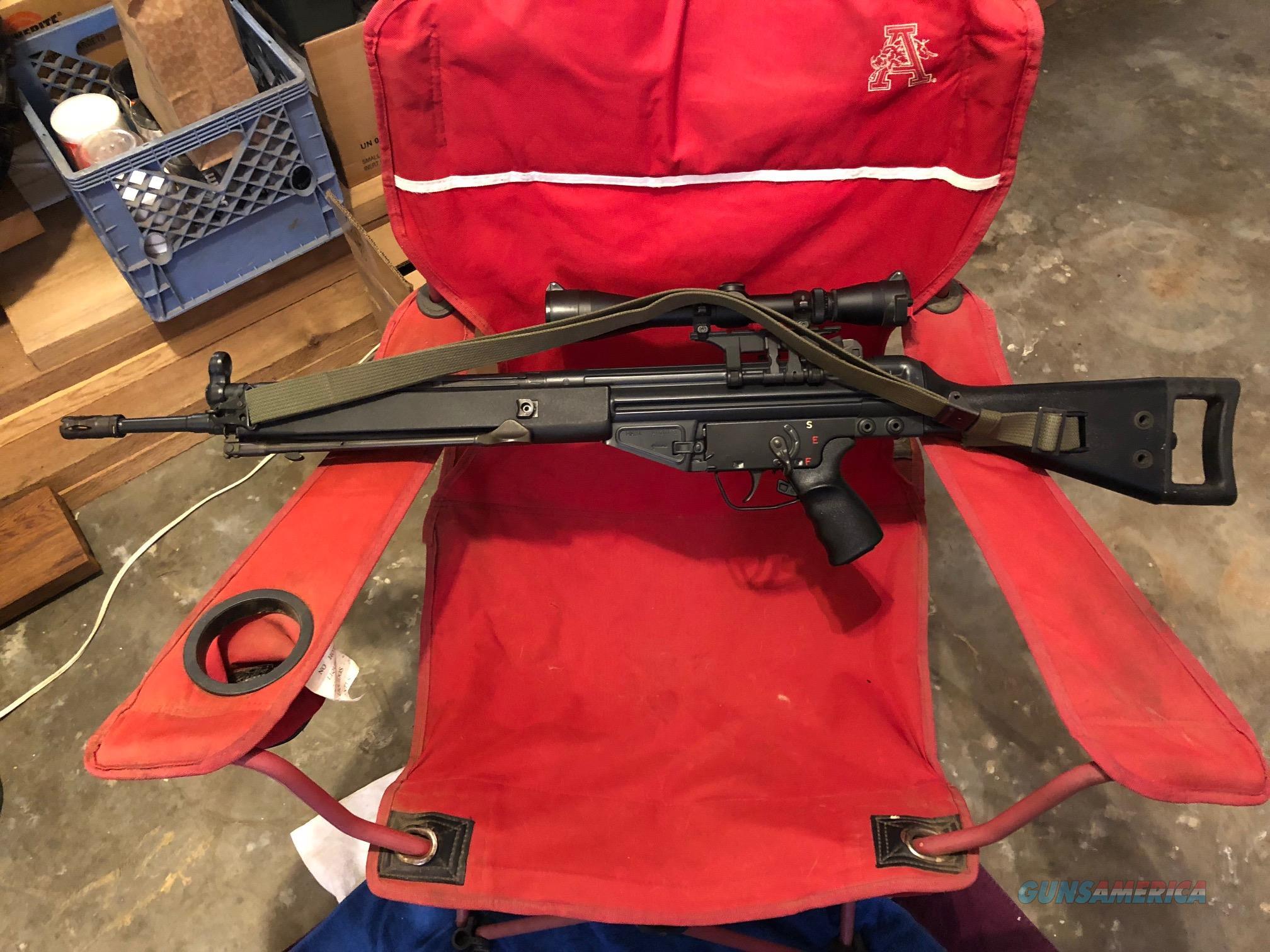 H&K 91  Guns > Rifles > Heckler & Koch Rifles > Tactical