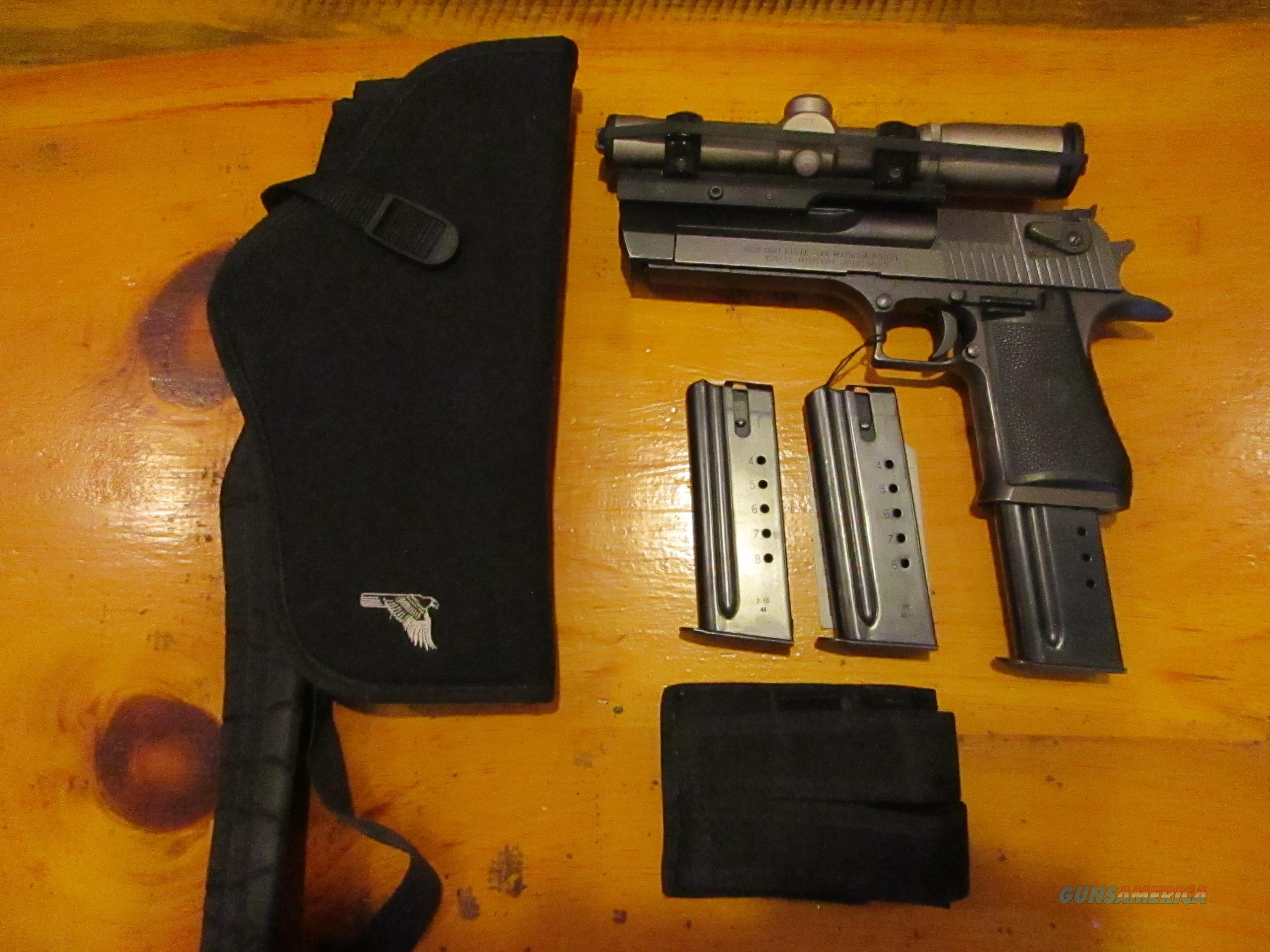 Deadly Accurate IMI Desert Eagle Hunting Outfit  Guns > Pistols > IMI Pistols
