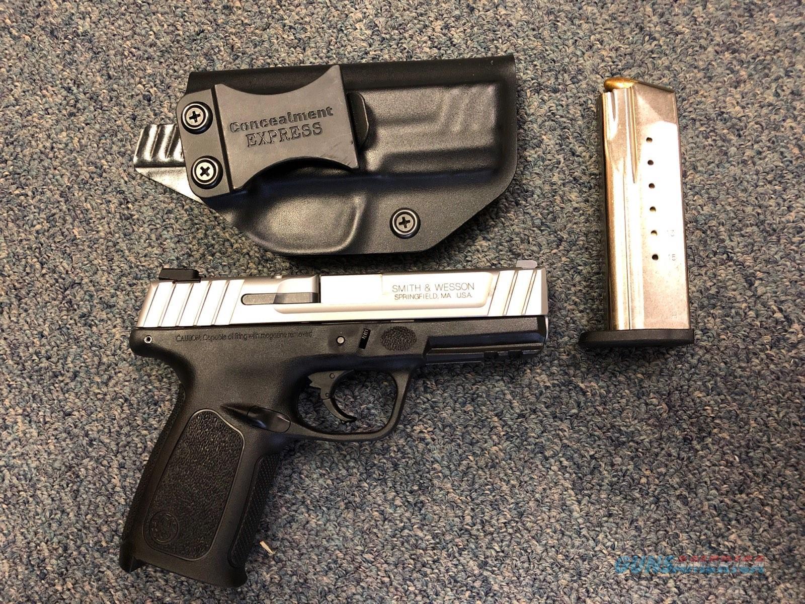 Smith & Wesson SDV9E 9mm  Guns > Pistols > Smith & Wesson Pistols - Autos > Polymer Frame