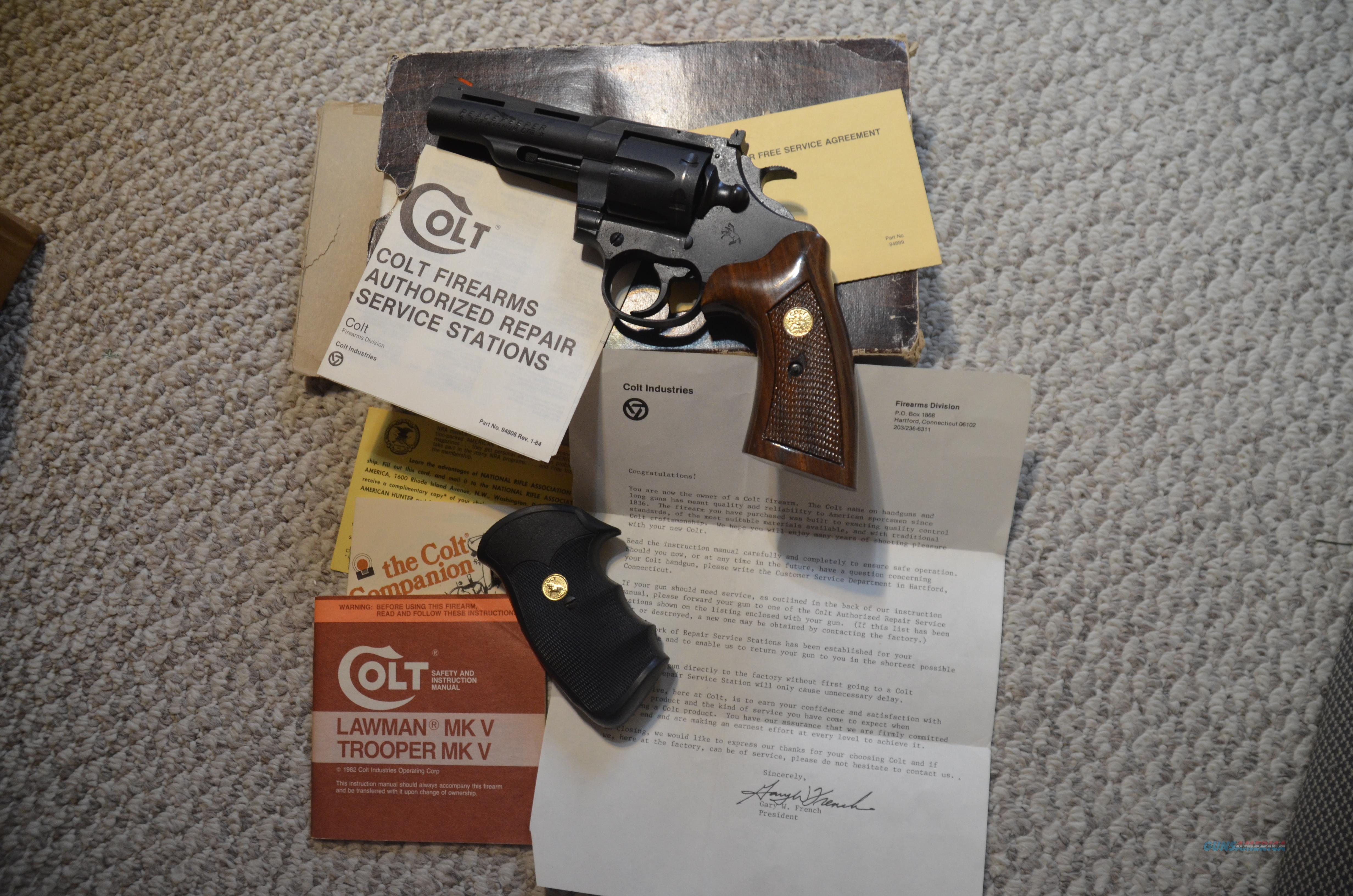 Colt Peace Keeper .357 Magnum 6 Shot  Guns > Pistols > Colt Double Action Revolvers- Modern