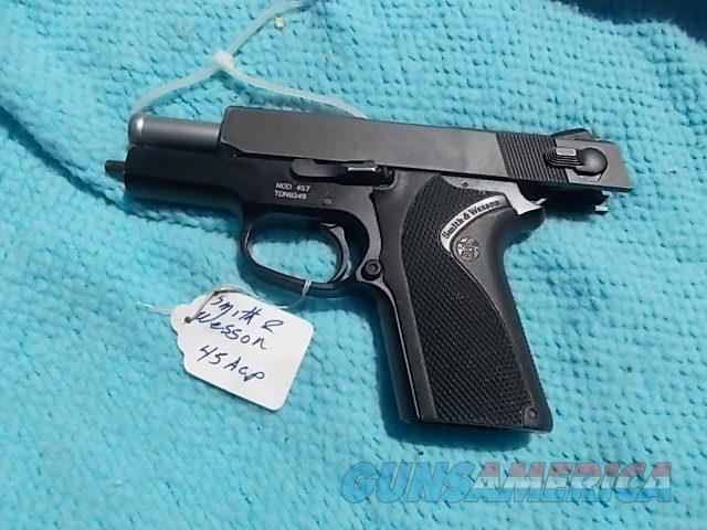 smith&wesson model 457  45 macp  Guns > Pistols > Smith & Wesson Pistols - Autos > Steel Frame